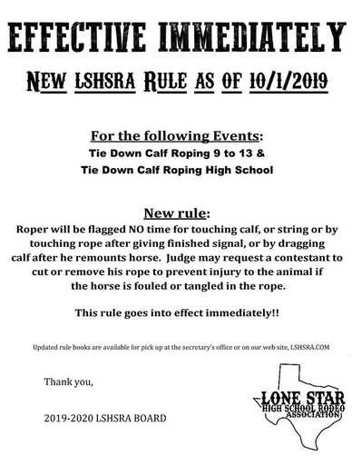 Lone Star High School Rodeo Association Home